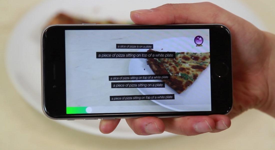 Çevresini Yapay Zekayla Tarif Eden Mobil Uygulama
