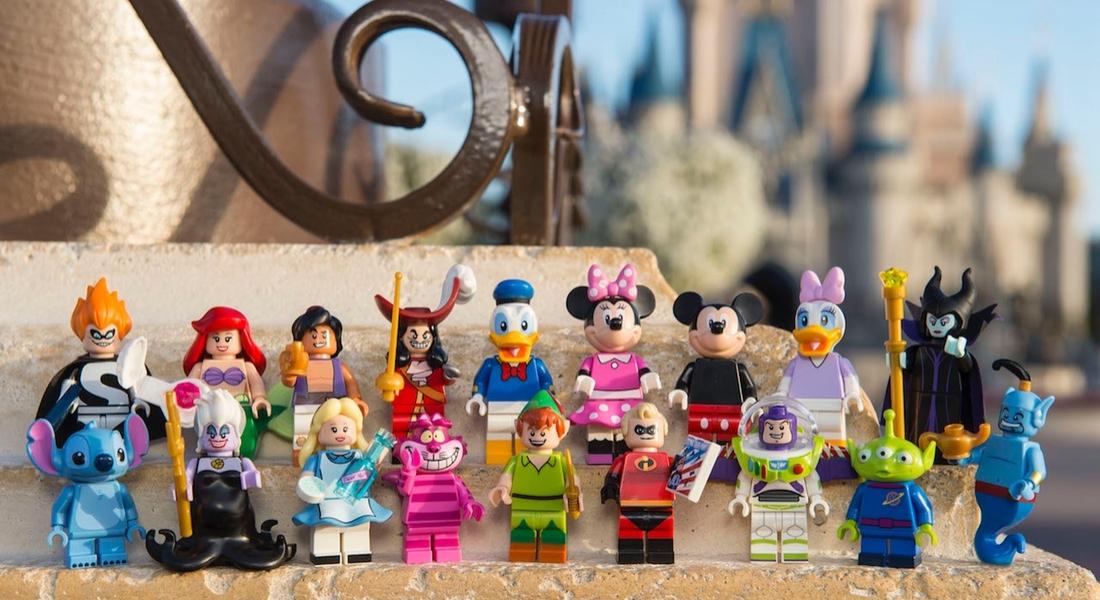 Disney Karakterleri LEGO Figürlerine Dönüşüyor
