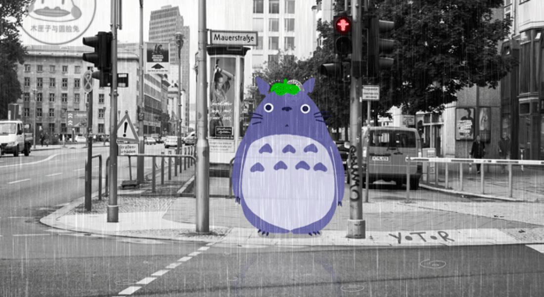 Şirin Yaratık Animasyonları Berlin Sokaklarını Geziyor