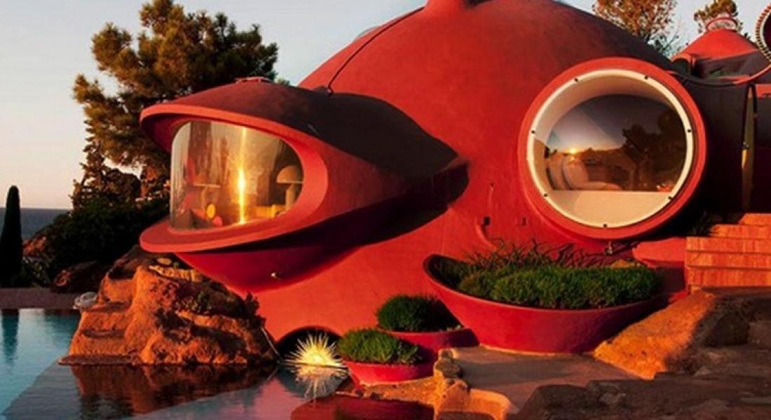1970'lerin Balon Evi Yeniden Ziyaretçilerle Buluşmaya Hazırlanıyor