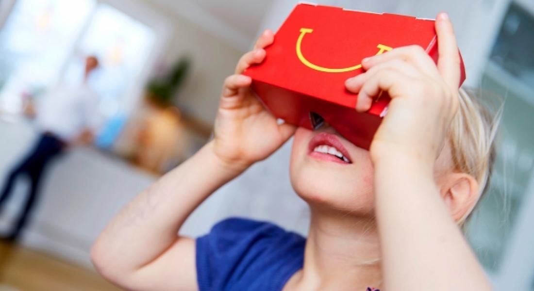 Happy Meal Kutuları Sanal Gerçeklik Gözlüklerine Dönüşürse
