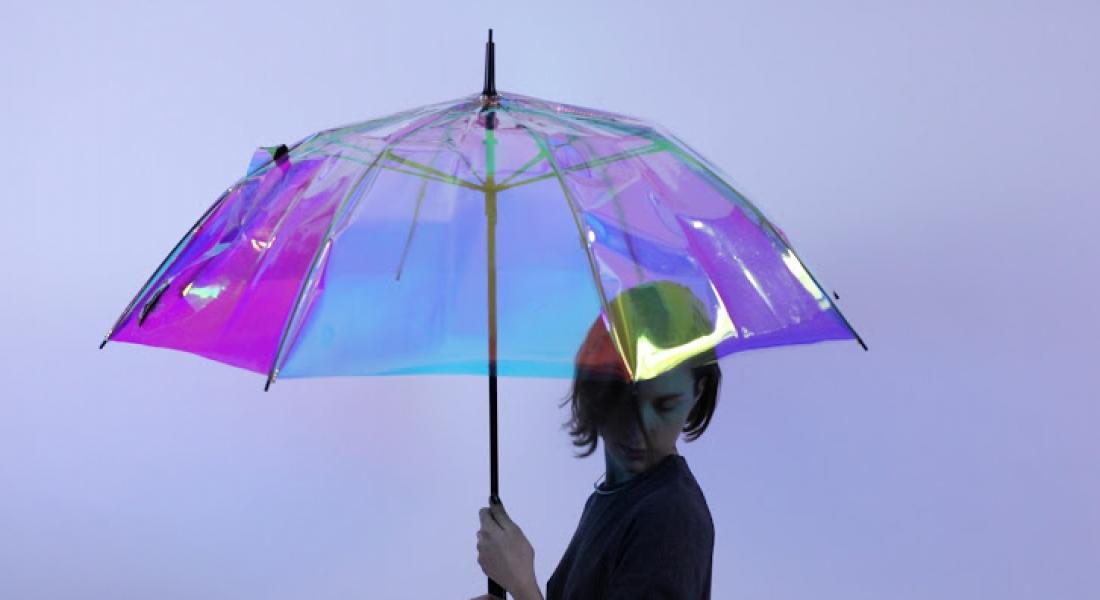 Yağmur Yağışına Karşı Sizi Uyaran Akıllı Şemsiye