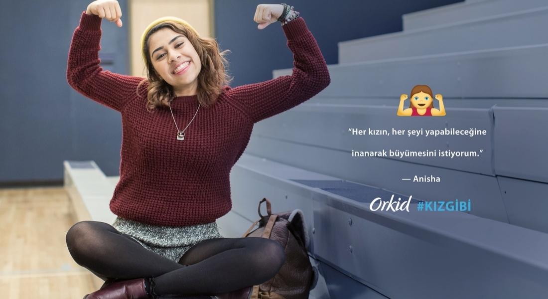 Orkid, #KızGibi Kampanyası ile Kız Emojilerin Peşinde