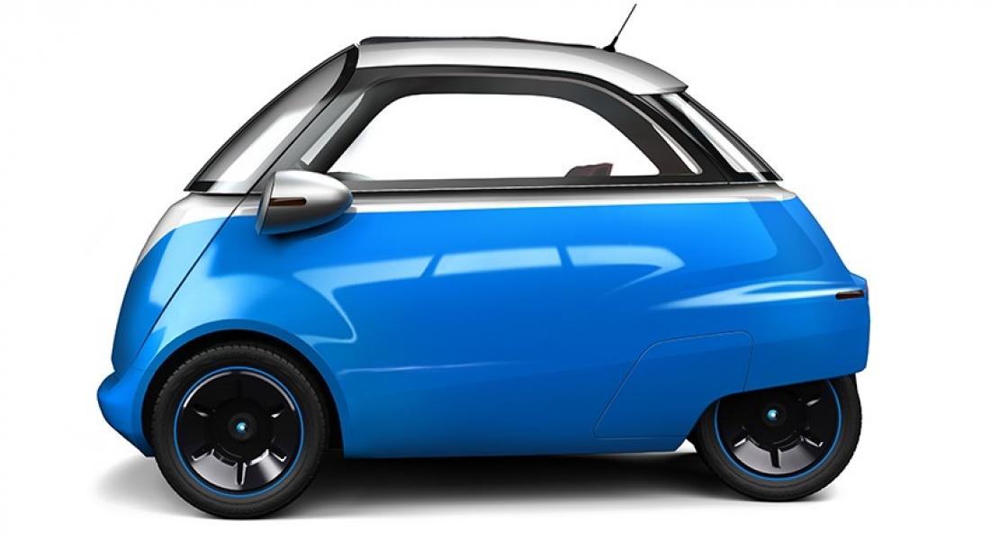 Microlino: Mikro Boyutlardaki Elektrikli Konsept Otomobil