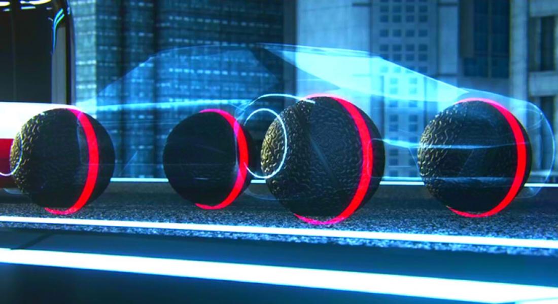 Goodyear'dan Sürücüsüz Araçlar İçin Konsept Lastik Tasarımı
