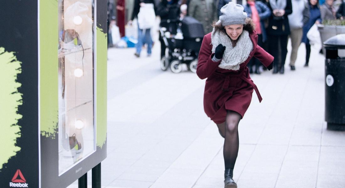 Yeterince Hızlı Koşanlara Spor Ayakkabısı Kazandıran Kampanya
