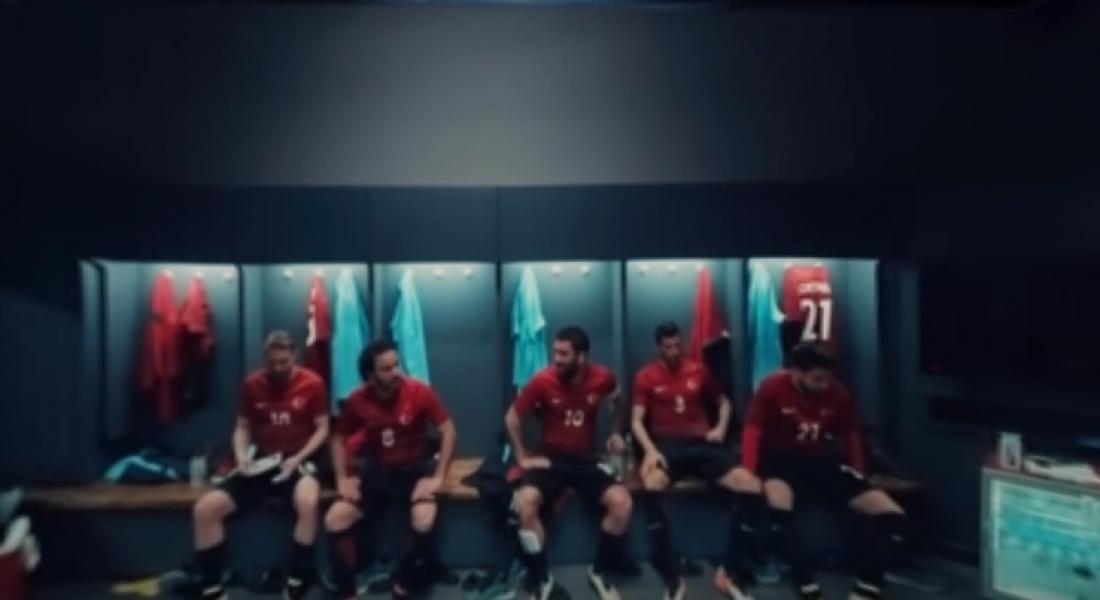 Nike Football'dan Milli Takımla Birlikte 360 Derece Devre Arası Konuşması