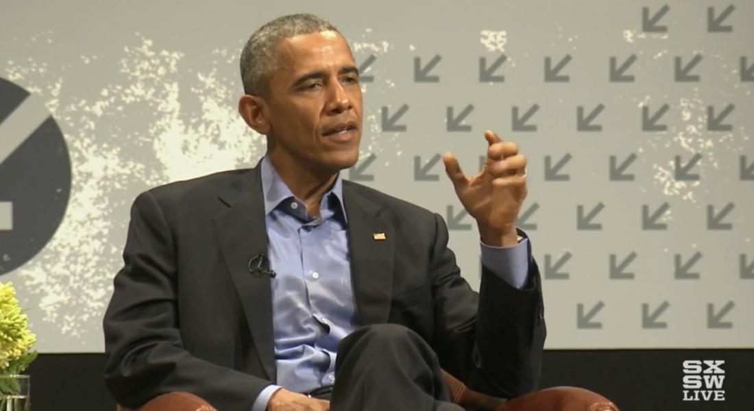 Teknolojinin Nimetlerinden Faydalanan Bir Hükümet ve Başkanı Obama [SXSW 2016]