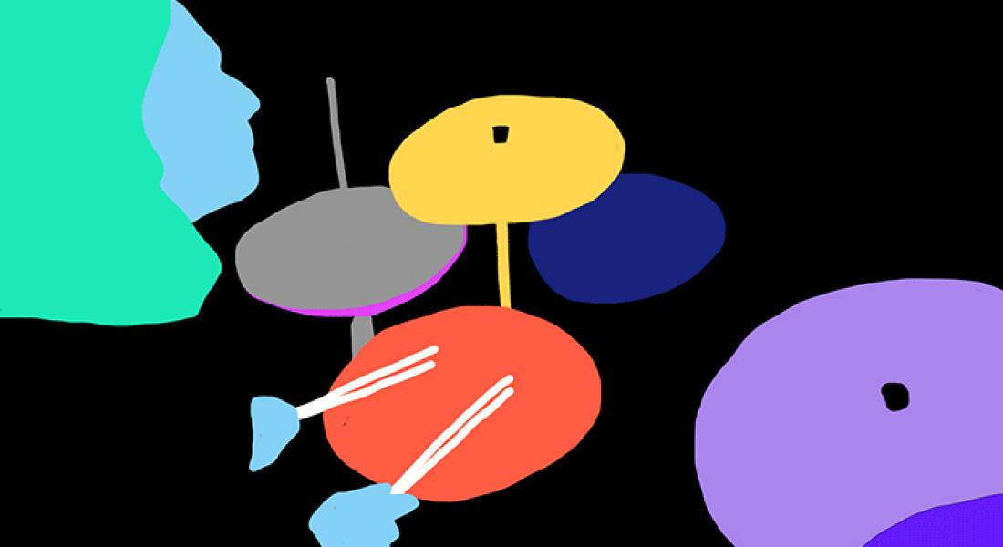 Andi Concha'dan Renkleri Hareketle Buluşturan GIF'ler