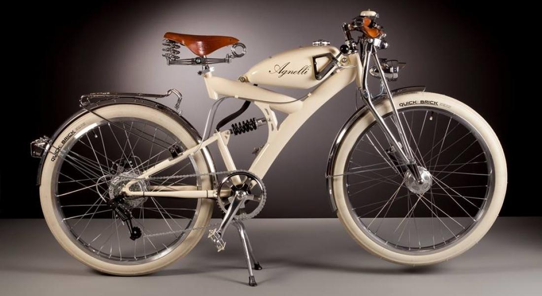 1950'lerin Nostaljisini Yansıtan Elektrikli Bisikletler