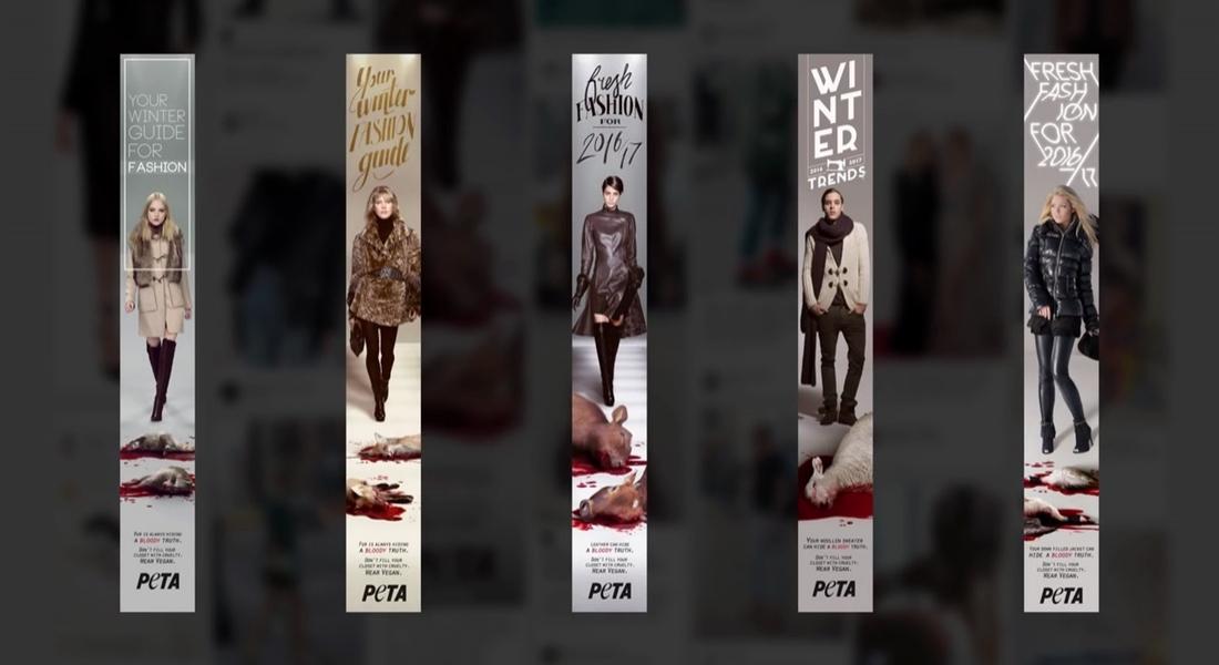 PETA, Modanın Ardında Gizlenen Acımasız Gerçekleri Ortaya Çıkarıyor
