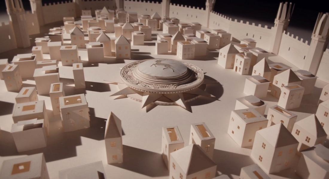 Moleskine, Game of Thrones'un Açılış Jeneriğini Yeniden Yarattı
