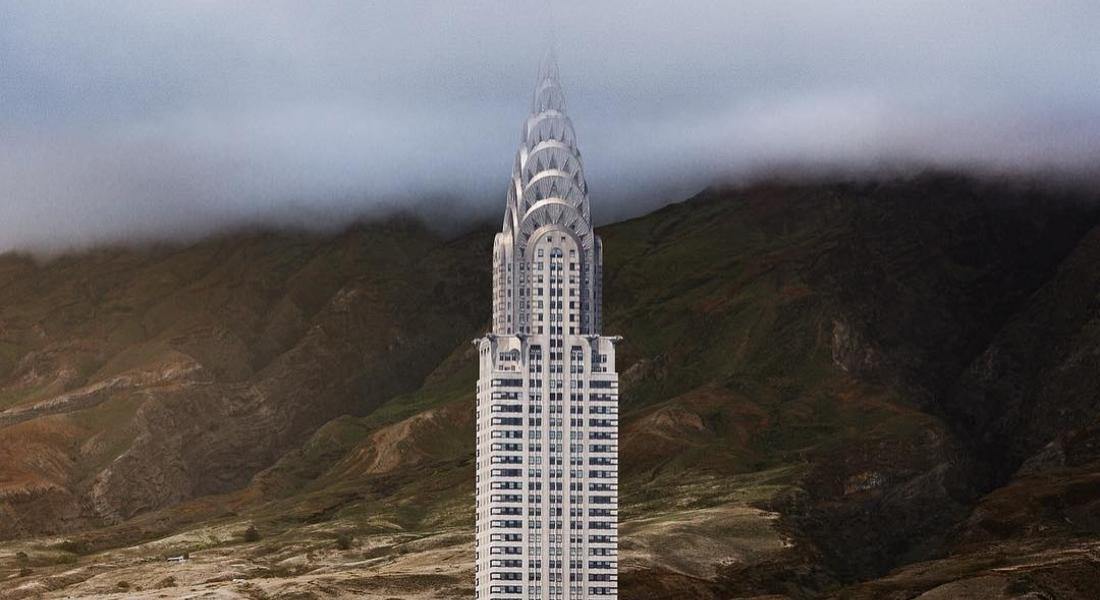New York'un Ünlü Binaları Dünyanın Issız Noktalarında