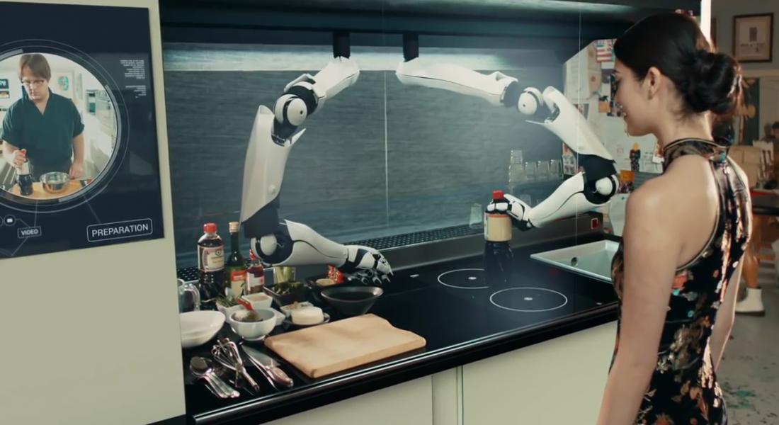 Dünyanın İlk Robot Şefi Moley