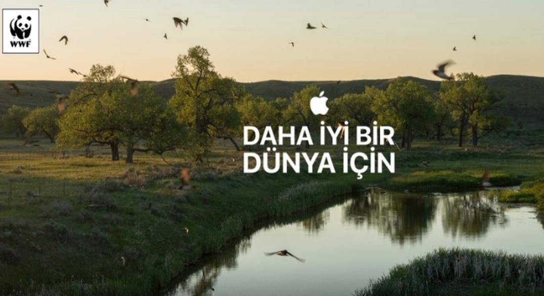 Apple ve WWF, Daha İyi Bir Dünya İçin Harekete Geçti