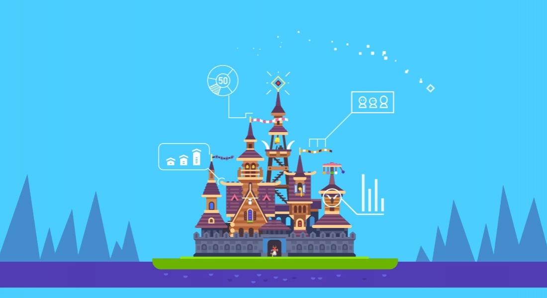 Oyun Tasarımına Renkli GIF'ler ve İllüstrasyonlar Katan Sanatçı