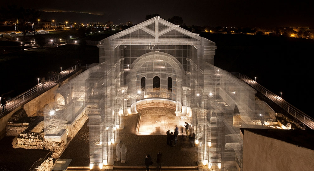 Çelik Hasırla Yeniden Ayağa Kalkan Tarihi Kilise