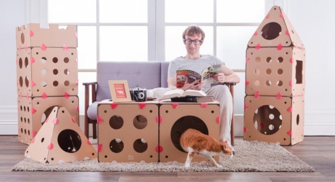Şekilden Şekile Giren Kedi Evleri: BoxKitty