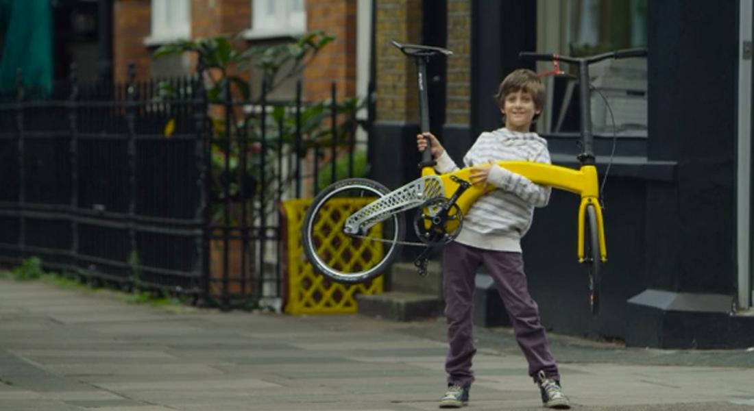 Karpuzdan Hafif Katlanır Bisiklet