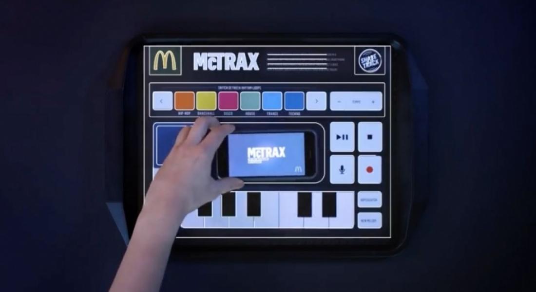 McDonald's İçinizdeki DJ'i Çağırıyor: McTrax