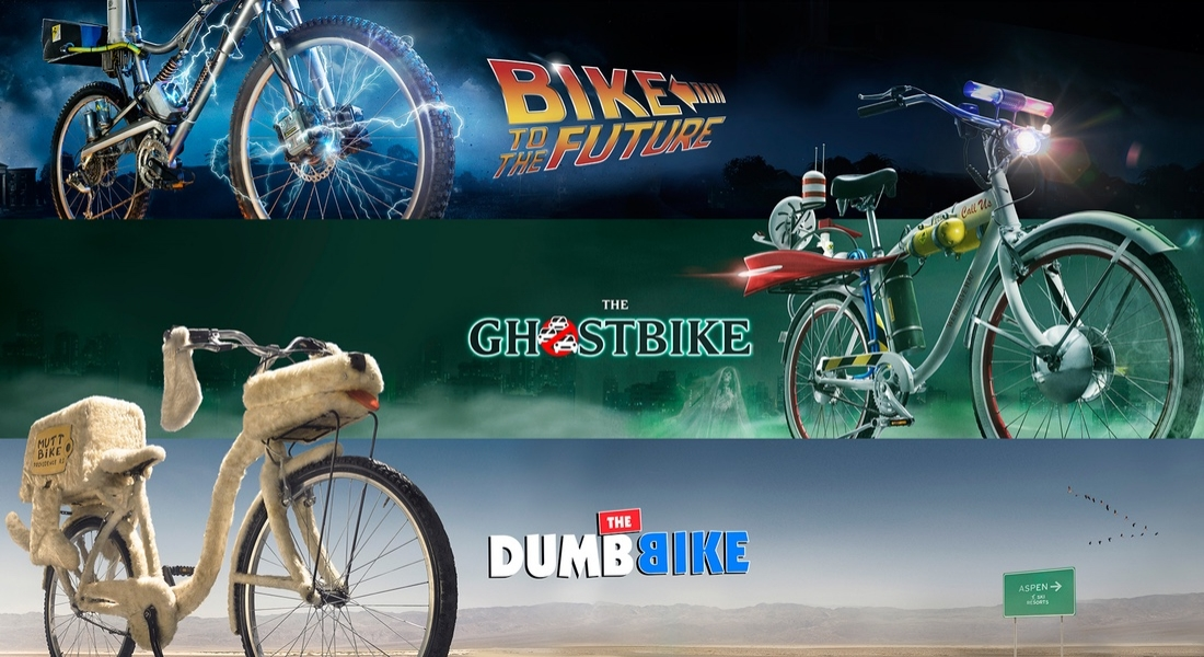 İkonik Film Otomobillerinin Bisiklet Halleri