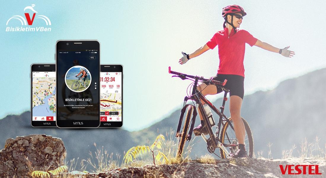 Vestel'den Şehir İçinde Bisiklet Kullanımını Kolaylaştıran Uygulama: bisikletimVben [advertorial]
