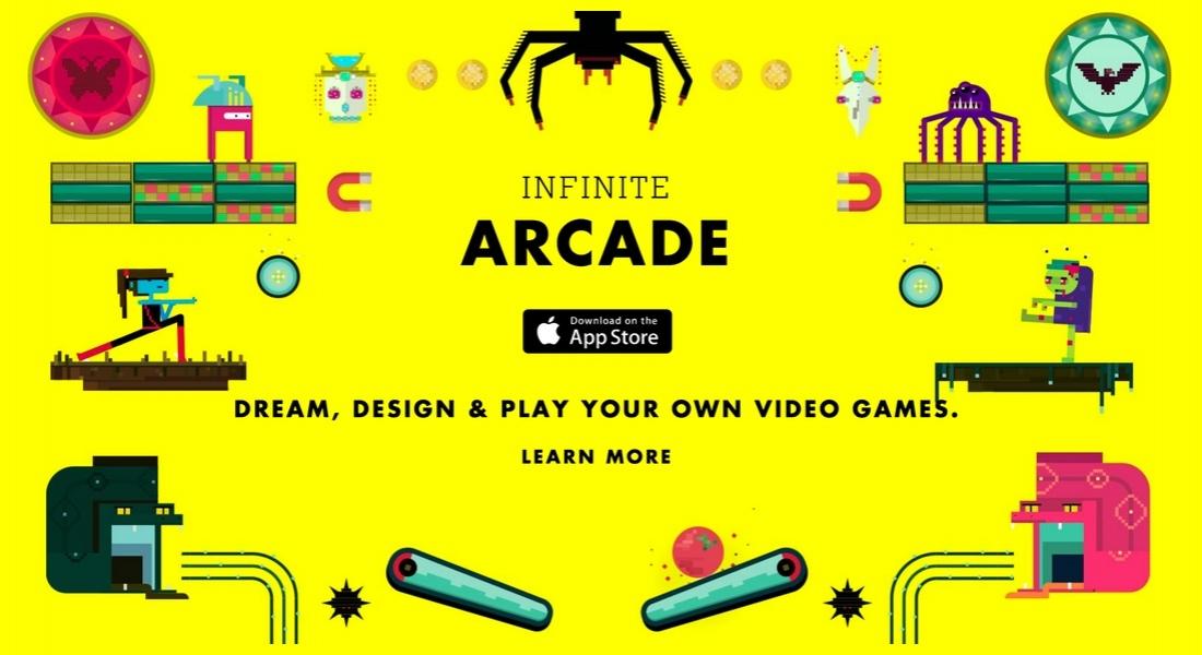Infinite Arcade ile Her Çocuk Bir Oyun Tasarımcısı