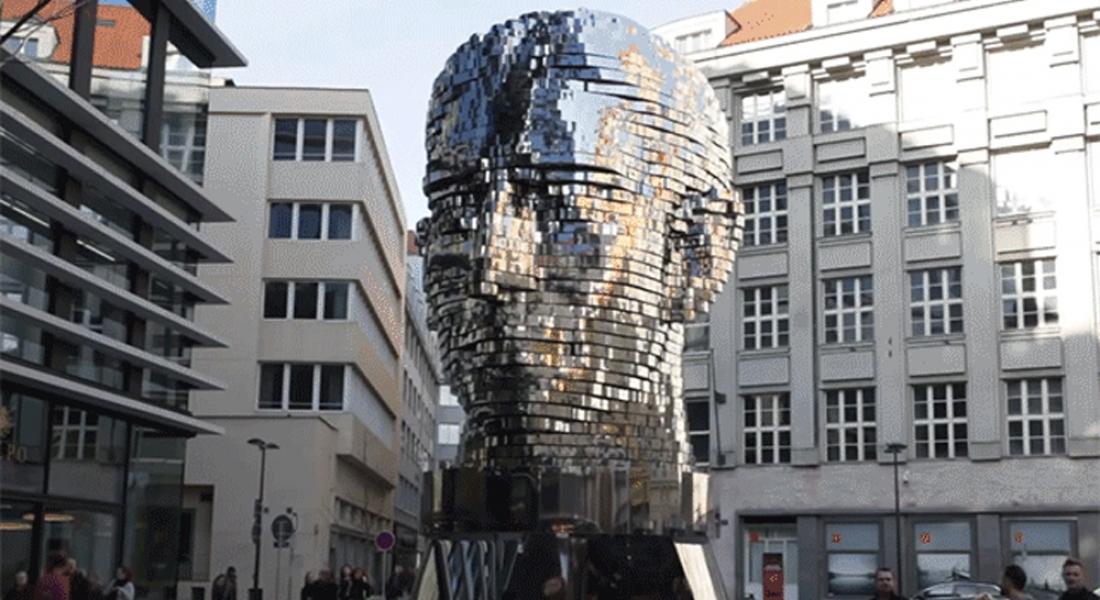 Franz Kafka'nın 42 Katmanlı Kinetik Heykeli
