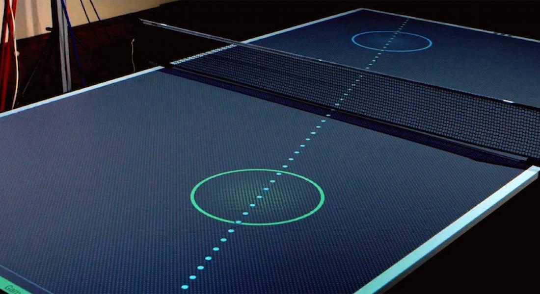 Tenis Yeteneklerinizi Geliştiren İnteraktif Pinpon Masası