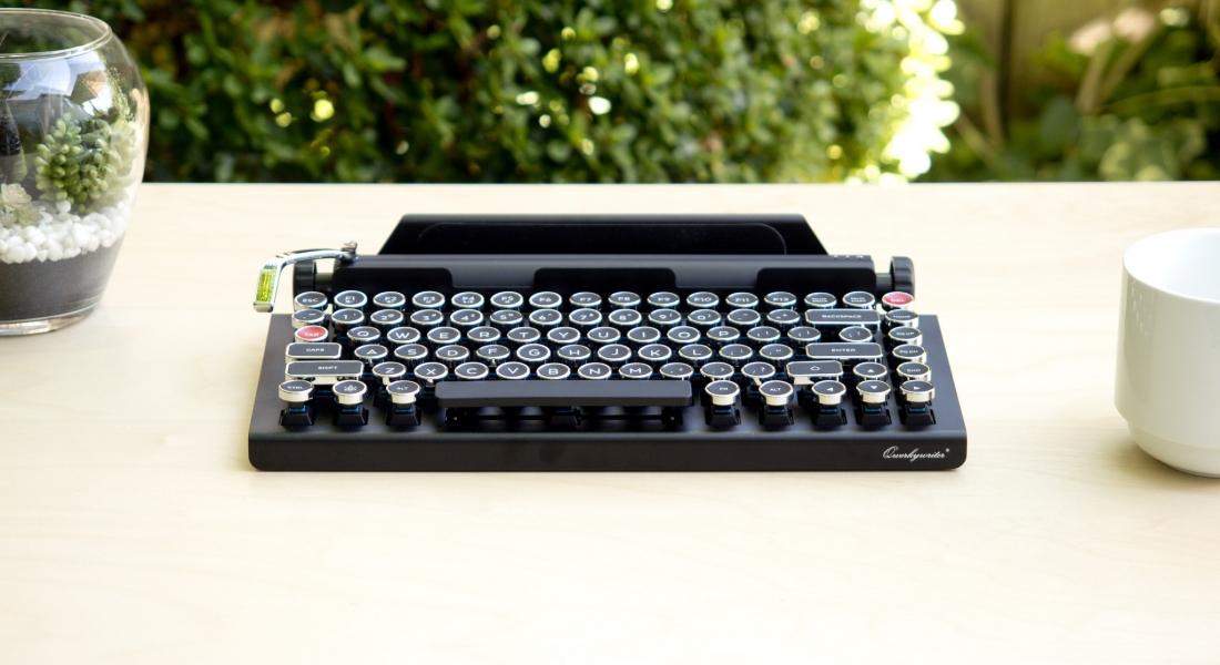 Klasik Daktiloyu Günümüze Taşıyan Klavye