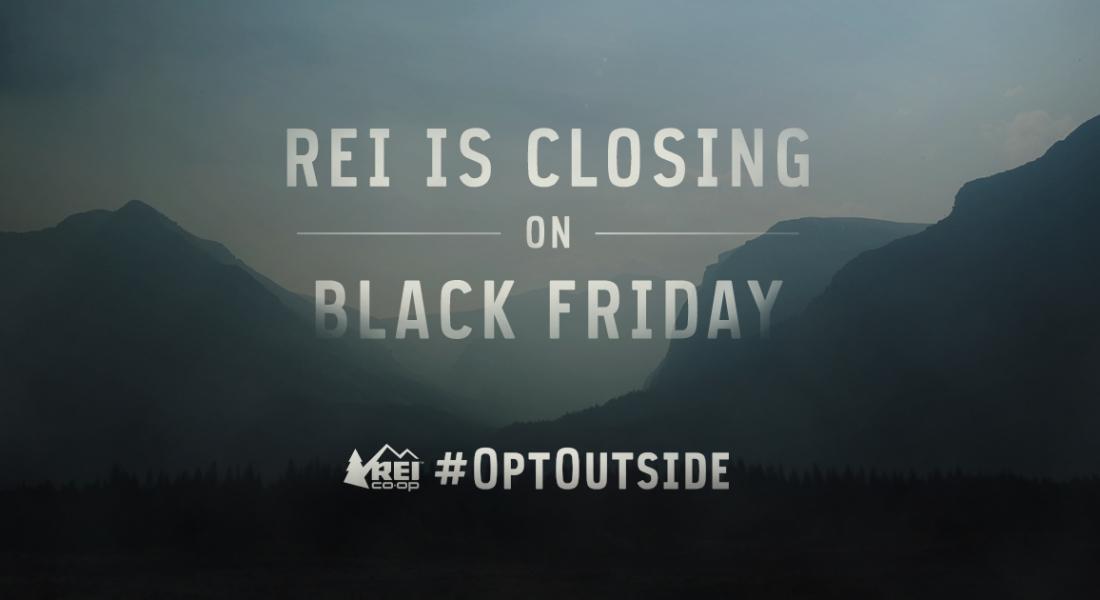 Black Friday'de Mağaza Kapatan REI'a One Show'da Büyük Ödül