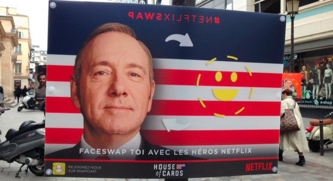 Netflix Dizi Karakterleriyle Yüz Değiştirme Oyunu