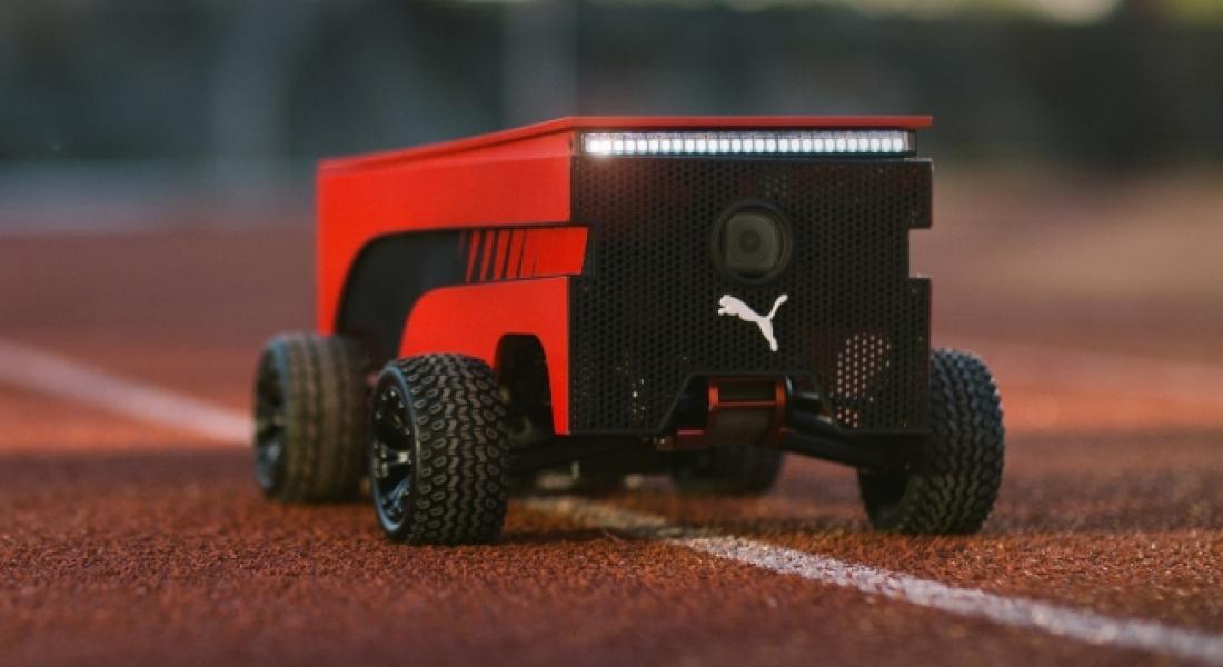 Usain Bolt'a Kafa Tutan Robot: BeatBot