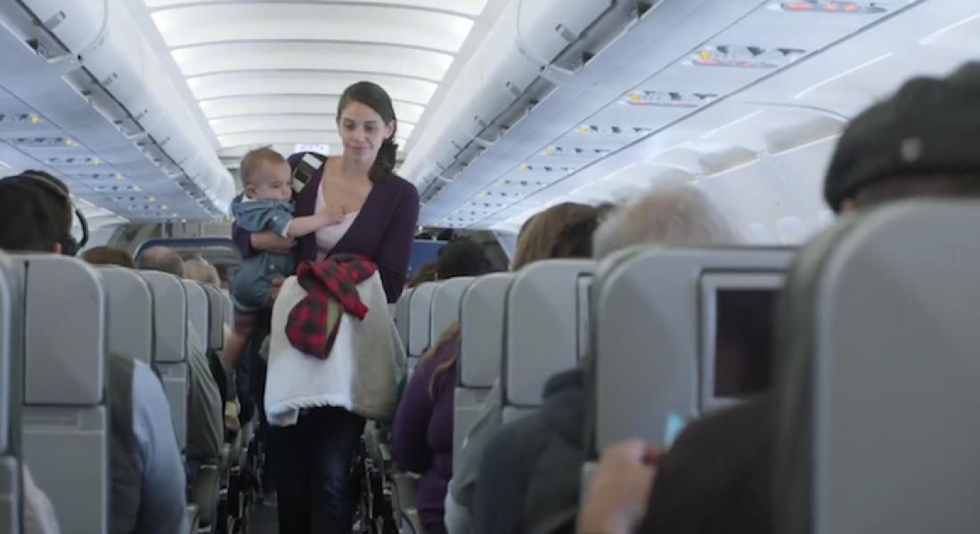 Anneler, Bebekler ve Uzun Uçak Yolculukları