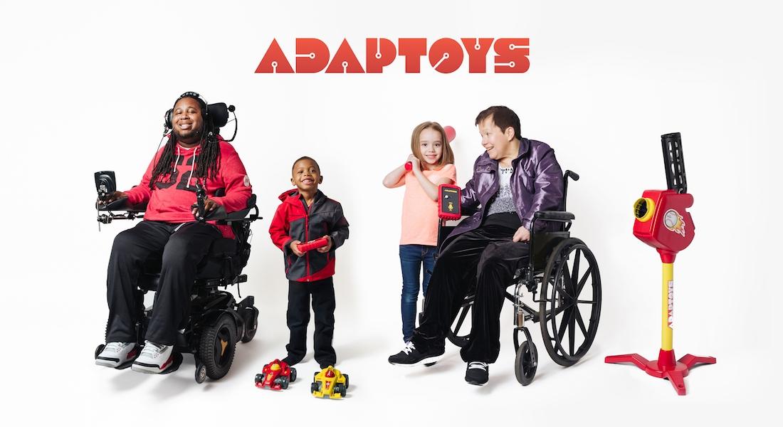 Adaptoys: Engelleri Ortadan Kaldıran Oyuncaklar
