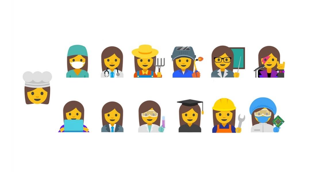 Google'dan Çalışan Kadınlar için 13 Yeni Emoji