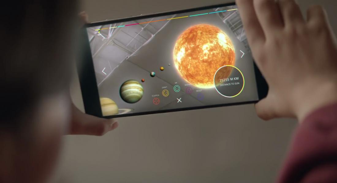 Google'ın Çevresini Algılayabilen Telefon Teknolojisi Tango'nun İlk Ürünü Çıkıyor