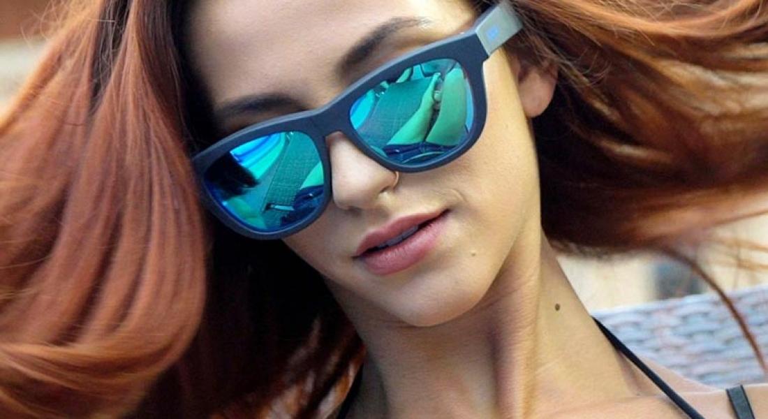 Güneş Gözlüğünü Kulaklığa Dönüştüren Tasarım