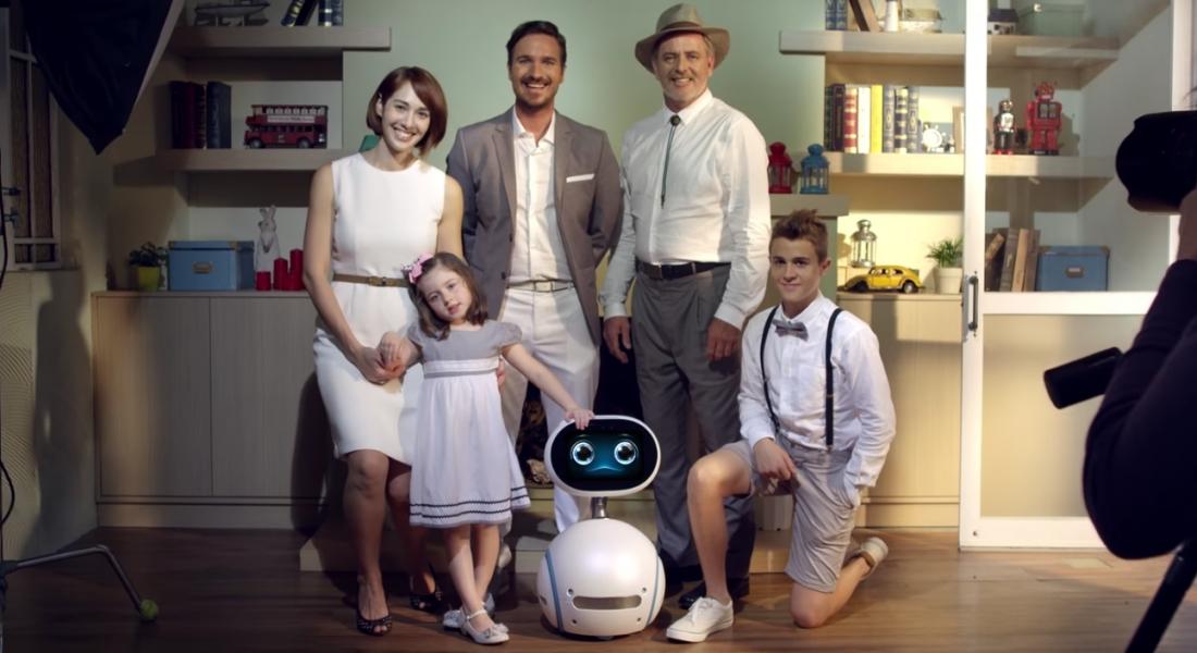 Robot Zenbo Ailenizin Bir Parçası Olmak İstiyor