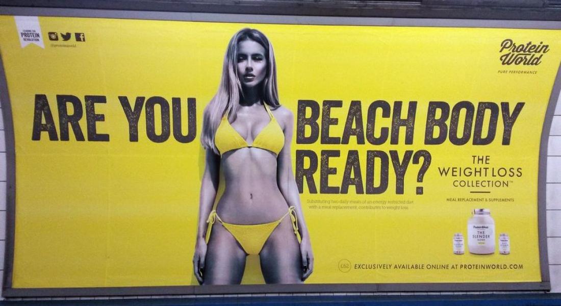 İnsanları Bedenlerinden Utandıran Reklamlar Londra'nın Tüm Toplu Taşıma Ağında Yasaklandı
