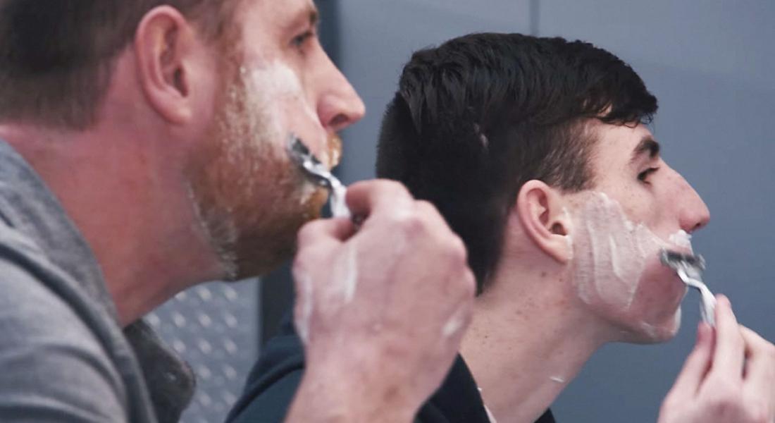 Tıraş Olmayı İnternetten Değil Babanızdan Öğrenin