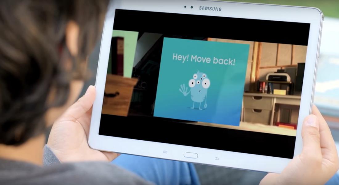 Samsung'dan Çocukların Gözlerini Koruyan Uygulama