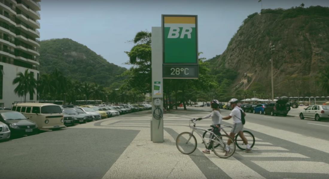 Bisiklet Pompasına Dönüşen Saat Panoları