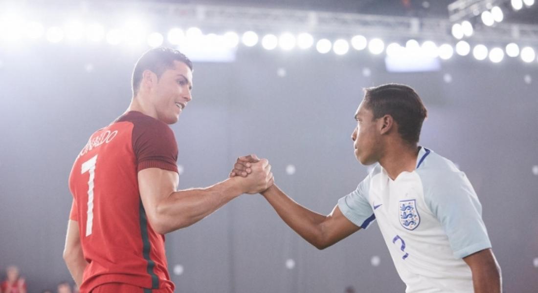 Nike'den Cristiano Ronaldo'lu Efsane Reklam: The Switch