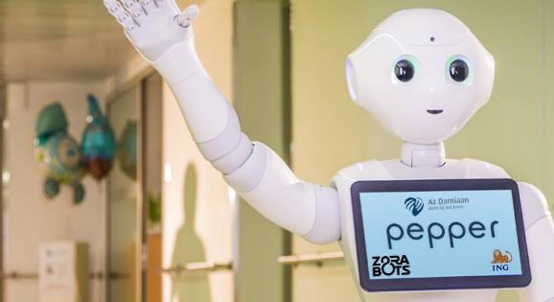 Sosyal Robot Pepper, Belçika Hastanelerinde İşe Başlıyor