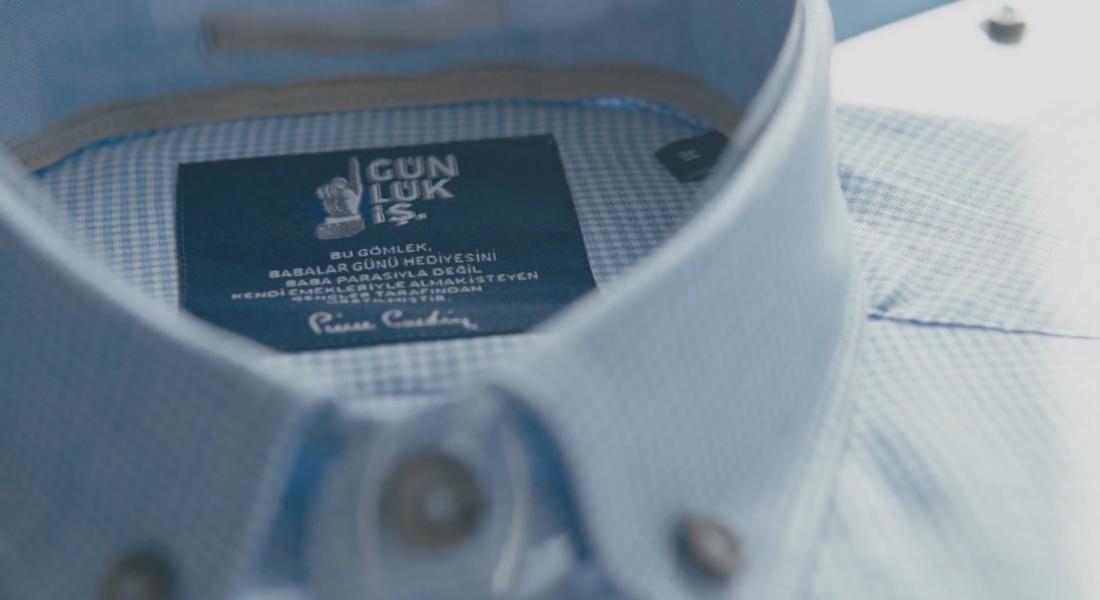 Gençler, Pierre Cardin'de Bir Gün Çalışarak Babalar Günü'ne Özel Gömlek Tasarladı