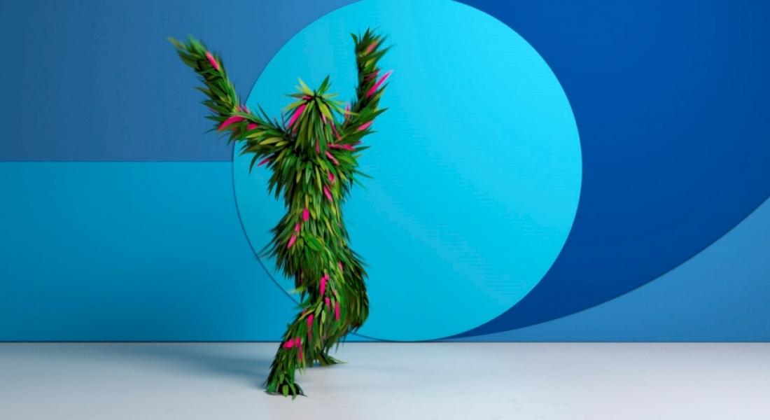 Renkli Avatarlardan Çılgın Dans Şovu