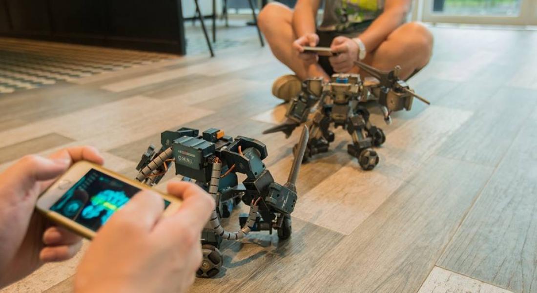 Dev Robot Dövüşleri Başlayana Kadar Sahne Ganker'da