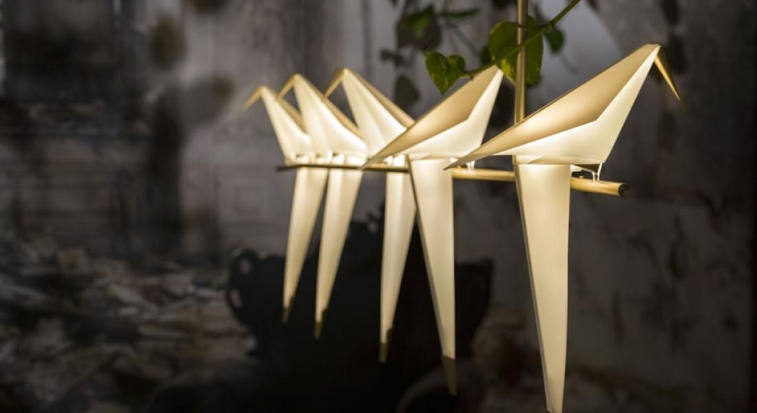 Umut Yamaç'ın Rüzgarla Sallanan Origami Kuşları