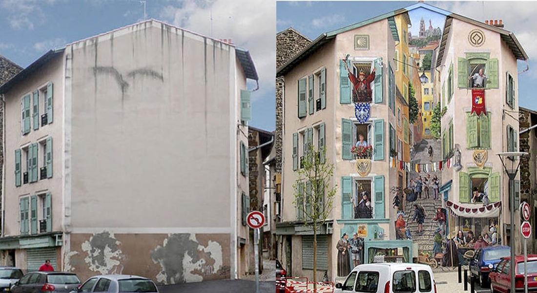 Duvarları Yaşamla Buluşturan Murallar